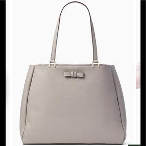 Kate Spade Pershing Street Nell, Taupe Handbag